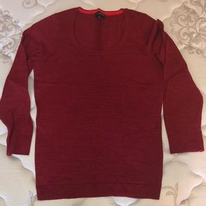 The Limited red sweater